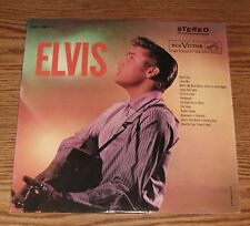 "Elvis Presley ( Original 1964 ""ELVIS"" ) RARE WHITE TOP PRESSING LSP-1382(e)"