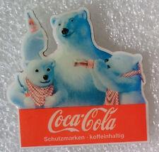 Coca-Cola Pin *3 Eispären mit Flaschen* - NEU!! (WP000052)