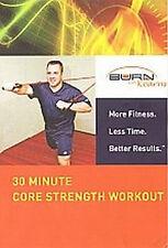 BURN WITH KEARNS 30 MINUTE CORE STREGTH WORKOUT - KEVIN KEAR - DVD - REGION 2 UK