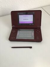 Nintendo DSI XL Console Wine Red/Burgundy WORKING!! Console Only