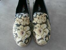 I Love Billy Soft Black Tapestry Shoes - Size 40 - BNWB