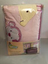 NEW Too Good by Jenny McCarthy Selvalicious Pink 4 pc Crib Bumper Animals NIP