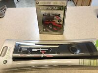 New Xbox 360 Faceplate Project Gotham Racing 3 (PGR3)-w/ Game-Rare!!!
