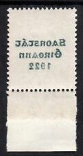 IRELAND MNH 1922 SG60 6d Reddish Purple with Offset