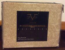 V1969 Italia Versace 300 TC Cotton Sateen King Sheet Set NEW