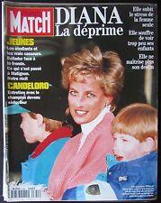 PARIS MATCH 1994 LADY DIANA CHARLTON HESTON LES CASSEURS EN FRANCE MONTAGNE DRUS