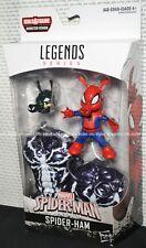 "Marvel Legends Build Monster Venom Spider-Man Series 6"" Figure Spider-Ham"