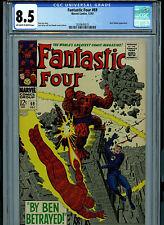 Fantastic Four #69 CGC 8.5 1967 Silver Age Marvel Comic Amricons K28