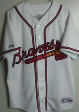 RARE Authentic Gary Sheffield MAJESTIC Braves MLB Jersey, Size: XL (No Size Tag)
