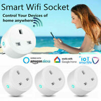 Smart WIFI Plug Socket Power Switch APP Remote Control Timer Home Automation NEW
