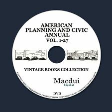American Civic Annual – Vintage e-books 27 Volumes PDF on 1 DVD Planning