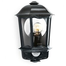 STEINEL L190 S Outdoor Wall Lantern Light, in Black 644413