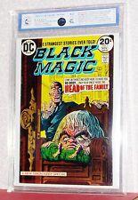 BLACK MAGIC #'s 1 & 2, (RSG-D) New DUPLEX - , Graded 8.2 & 8.7, 1973-74, DC