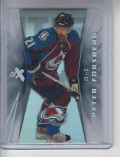 08/09 Fleer Ultra Colorado Avalanche Peter Forsberg EX card #ex30