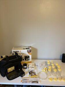 Medela-Pump-In-Style Advanced Double Breast Pump w/ Shoulder cooler Bag