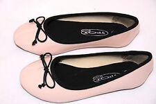 light pink patent ballet SPOT ON flat shoes pumps ballerina size 11 /29 girls