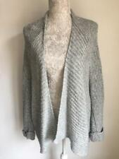 Tu women's cardigan size 18-20 sea blue oversized with wool (41)