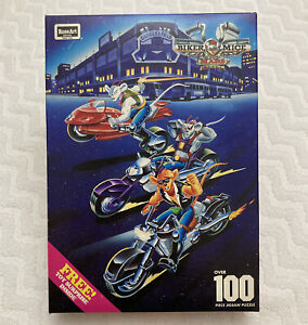 NEW Sealed 1994 ROSE ART BIKER MICE FROM MARS 100 PC PUZZLE 08044 TOY SURPRISE