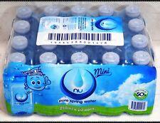 NEW Nu-Pure Australian Spring Water 20 x 250ML Mini Bottle Bulk Pack