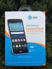 LG Phoenix 2 K371 AT&T Post/PrePaid ANY AT&T MVNO - 16GB - Black - Nice Device