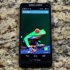Motorola Droid RAZR M XT907 8GB - Black (Verizon MVNO) Smartphone CHECK IMEI #J9