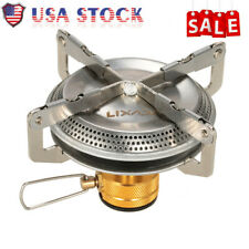 Lixada Portable Outdoor Camping Gas Stove Backpacking Picnic Bbq Cooking 3500W
