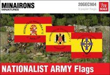 Minairons 1:72 Nationalist Army flags - 20mm Spanish Civil War