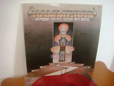 HAMMERON - NOTHIN' TO DO AGAIN BUT ROCK 100 COPIES RED VINYL 2014