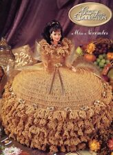 Miss November Gems of the South Outfit For Barbie Doll Annie's Crochet PATTERN