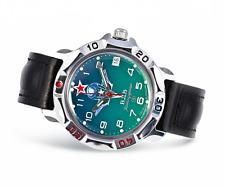 VOSTOK Komandirskie Mechanisch 2414A russische Uhr WDW ВДВ, командирские часы