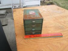 Vintage Industrial Parts Metal Cabinet Drawer Dividers small!