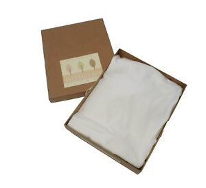 Natures Purest Organic Jersey Cotton Cream Fitted Moses Basket Sheets  (7043)