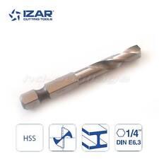 Foret metal à queue hexagonale 6 pans HSS Izar diamètre 6.0 mm - QUALITE PRO