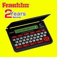 Franklin CWM-109 Collins Electronic Crossword Solver Thesaurus Spellchecker NEW