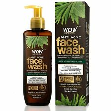 WOW Skin Science Anti Acne Face Wash - Oil Free - No Parabens,(200mL)