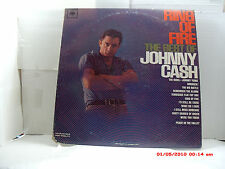JOHNNY CASH -(LP)- RING OF FIRE  THE BEST OF JOHNNY CASH - COLUMBIA - MONO- 1963