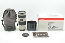 【 BOXED UNUSED 】 Canon EF 70-200mm f/4 L IS USM Zoom Lens Ultrasonic from JAPAN