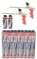 16er Set 1k PUR- Pistolenschaum NBS Made in Germany Bauschaum Pistolenreiniger