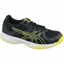 New listing Asics Upcourt 3 Gs Jr 1074A005-003 volleyball shoes black grey