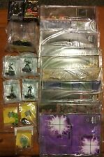 Batman Heroclix DC Lot- Marquee, LE Figures, Objects, Resource and Maps Wizkids