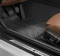 OEM BMW F32 F33 F36 ALL-WEATHER RUBBER FRONT CAR FLOOR MATS 51472285311 GENUINE