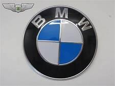 BMW New Genuine 82mm Front Bonnet Hood Emblem Badge 51148132375
