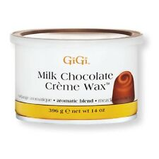Lot of 10 Jars - Gigi  Milk Chocolate Creme Wax 14oz/396g