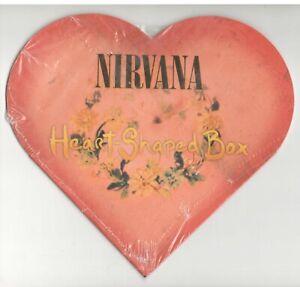 Nirvana, Heart-Shaped Box; RARE 3 Track Promo CD Single, New & Still Sealed