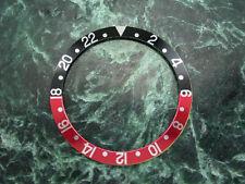 Ghiera Lunetta  Adattabile Rolex GMT Alpha GMT Black Red