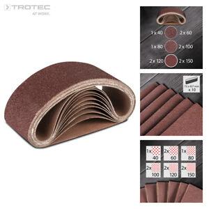 800# 10Pcs Samfox 533x75mm Banda de lijado 21x3 pulgadas Banda abrasiva para lijadora de banda 240-1000 Grano 10 piezas
