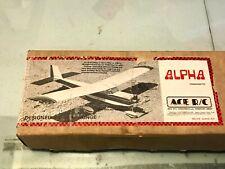 Vintage Ace Alpha Radio Controlled Airplane Kit - Easy Build, Fun Park Flyer