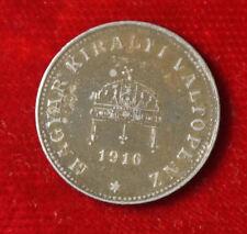 Moneta COIN Ungheria Hungary 20 FILLER 1916 (g9)