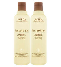 Aveda Flax Seed Aloe Strong Hold Sculpturing Gel 8.5 oz (Pack of 2)