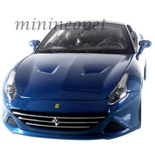 BBURAGO 18-16003 FERRARI CALIFORNIA T CLOSED TOP 1/18 DIECAST MODEL CAR BLUE